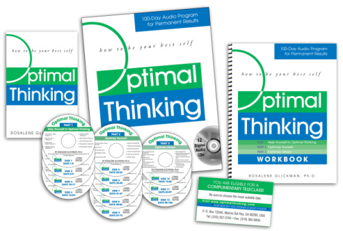 100-Day Optimal Thinking Audio-CD Program for Permanent Results