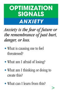 Anxiety emotional mastery wallet card