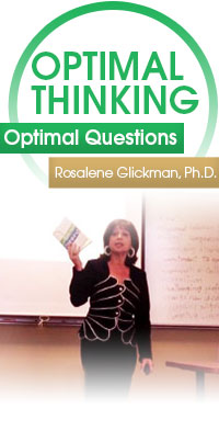 optimal questions with rosalene glickman