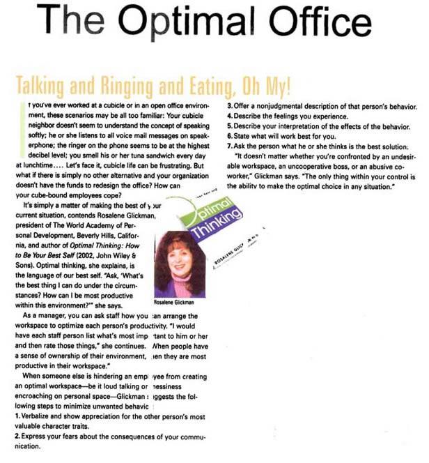 Optimal-Office-Association Management Magazine