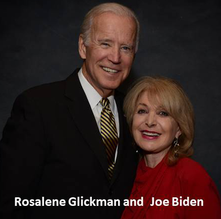 Rosalene Glickman and Joe Biden